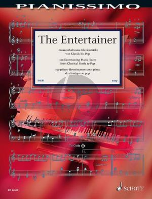 The Entertainer (100 Entertaining Piano Pieces from Classical Music to Pop) (edited by Hans-Günter Heumann)