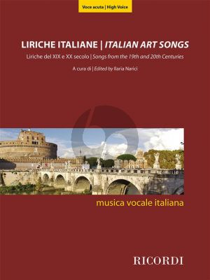Italian Art Songs (48 Songs from the 19th and 20th Centuries) High Voice (edited by Ilaria Narici)