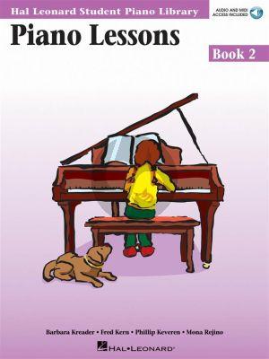Hal Leonard Piano Lessons Book 2 - LET OP, dit is de Engelse uitgave