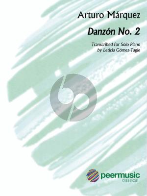 Marquez Danzon No.2 Piano solo