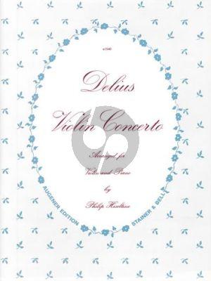 Delius Concerto (1916) Violin-Orchestra (piano red.) (by Philip Hesletine)