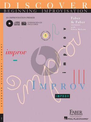 Faber Discover Beginning Improvisation Piano (Bk-Cd)