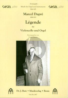 Dupre Legende Violoncello-Orgel (ed. Daniel Fütterer)
