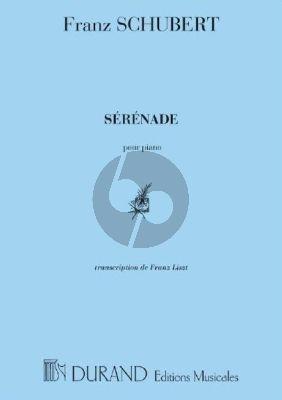 Schubert Sérénade Piano seule (transcr. Franz Liszt)