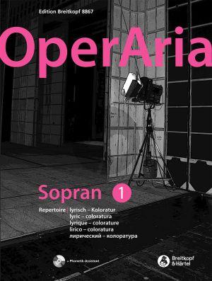 OperAria Soprano Vol.1 Lyric-Coloratura (Bk-Cd) (edited by Peter Anton Ling and Marina Sandel)