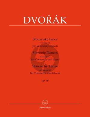 Dvorakl Slavonic Dances Op.46 Violoncello-Piano (transcr. by Jirí Gemrot)