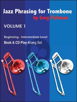 Fishman Jazz Phrasing for Trombone Vol.1 (Bk-Cd)