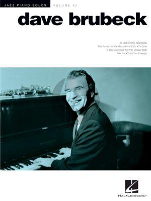 Dave Brubeck 23 Standards (Jazz Piano Solos Series Vol.42)