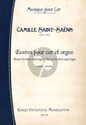 Saint-Saens Werke Horn-Orgel (mit Gesang)