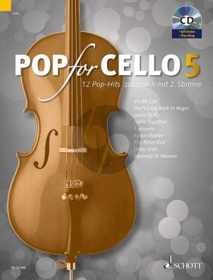 Pop for Cello Vol.5 (with 2nd Part) (Bk-Cd) (edited by Michael Zlanabitnig)