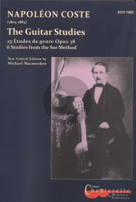 Coste The Guitar Studies (edited by Michael Macmeeken)