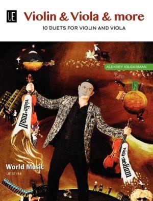 Igudesman Violin & Viola & More (10 Duets) for Violin and Viola