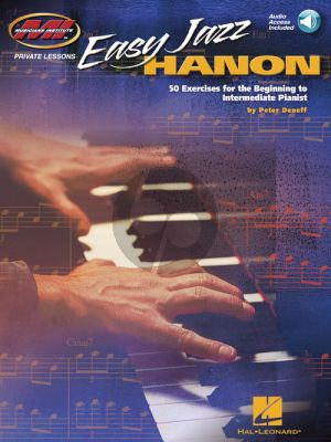 Deneff Easy Jazz Hanon (50 Exercises for the Beginning to Intermediate Pianist) (Book with Audio online)