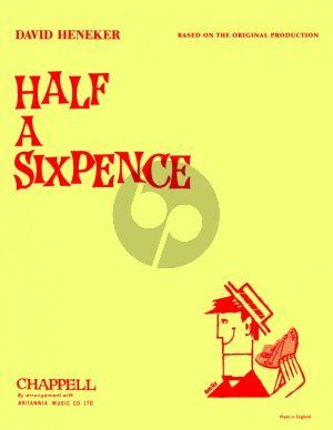 Heneker Half a Sixpence Vocal Score (original)