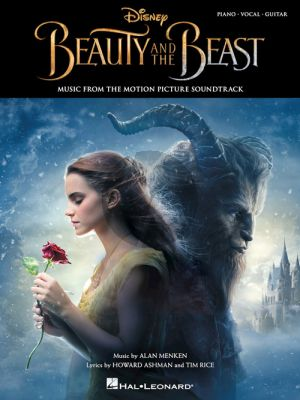 Menken Beauty and the Beast (Music from the Motion Picture Soundtrack) Piano-Vocal-Guitar