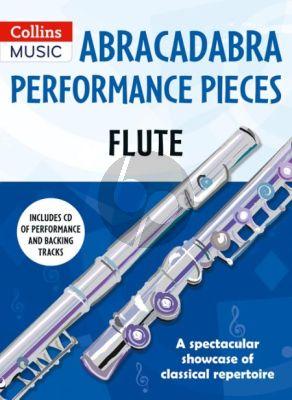 Abracadabra Performance Pieces Flute (Bk-Cd)
