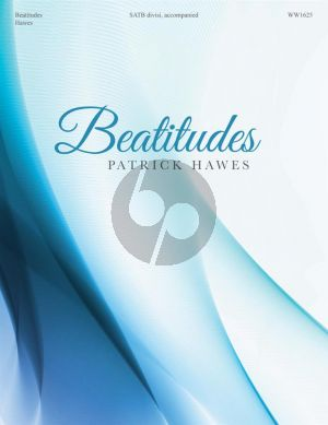 Hawes Beatitudes SATB-Piano
