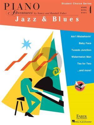 Piano Adventures: Jazz & Blues - Level 4