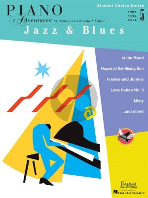 Faber Piano Adventures: Jazz & Blues - Level 5 (Student Choice Series)