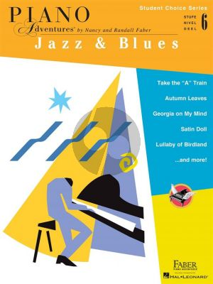 Faber Piano Adventures: Jazz & Blues - Level 6 (Student Choice Series)
