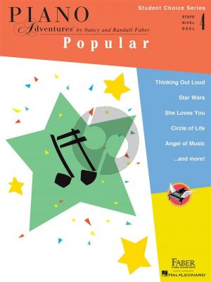 Piano Adventures: Popular - Level 4
