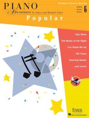 Piano Adventures: Popular - Level 6