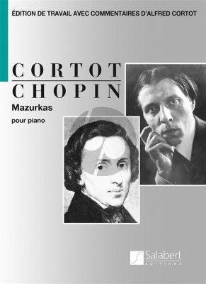 Chopin Mazurkas Piano (edition par Alfred Cortot)