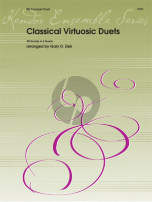 Classical Virtuosic Duets (30 Duets) 2 Trumpets