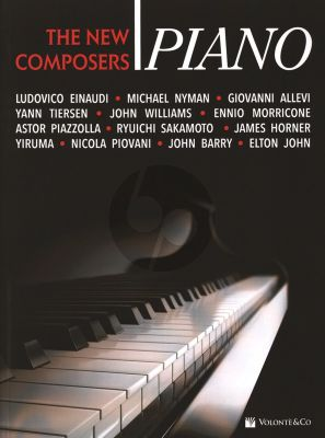 Album The New Composers Piano solo (Franco Concina)
