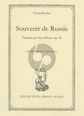 Sor Souvenir de Russie Op.63 2 Guitars