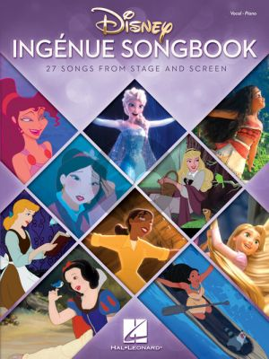 Disney Ingenue Songbook (27 Songs from Stage and Screen) Piano-Vocal