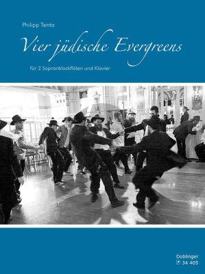 Tenta Vier jüdische Evergreens 2 Sopranblockflöten und Klavier