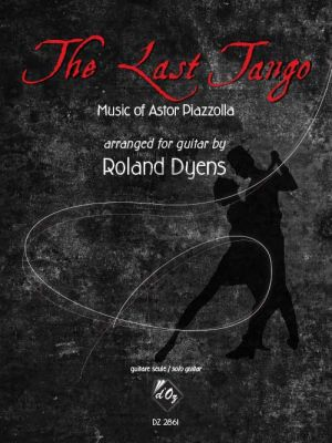 Piazzolla The Last Tango Guitar solo (transcr. by Roland Dyens)