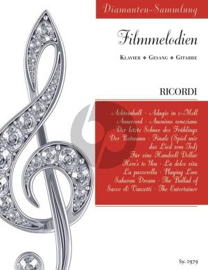 Diamanten-Sammlung Filmmelodien Gesang-Klavier-Gitarre