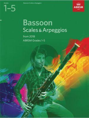 Bassoon Scales & Arpeggios, ABRSM Grades 1–5
