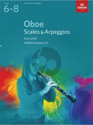 Oboe Scales & Arpeggios, ABRSM Grades 6–8