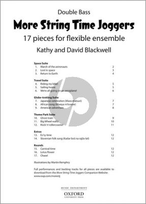 Blackwell More String Time Joggers Double bass part