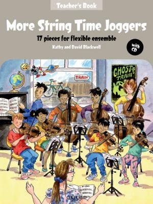 Blackwell More String Time Joggers Teacher's Book + CD