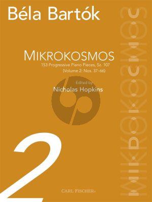 Bartok Mikrokosmos Vol.2 (No.37-66) Piano (edited by Nicolas Hopkins)
