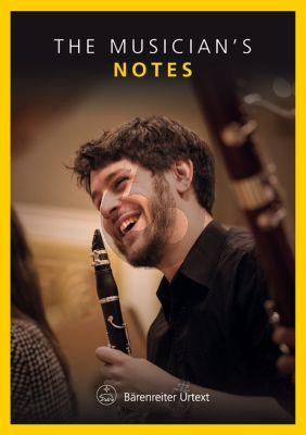 "The Musician's Notes Bärenreiter Notebook ""Clarinet"""