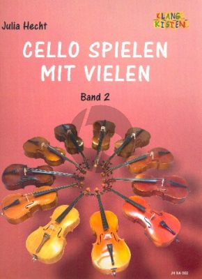 Cello spielen mit vielen Band 2 4 Violoncellos (Part./Stimmen) (ed. Julia Hecht)