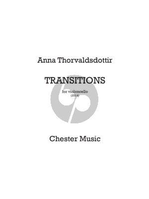 Thorvaldsdottir Transitions Violoncello solo (2014)