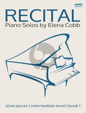 Cobb Recital Piano Solos Book 1 (intermediate level)