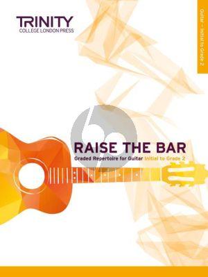 Raise the Bar Guitar book 1 (Initial–Grade 2)