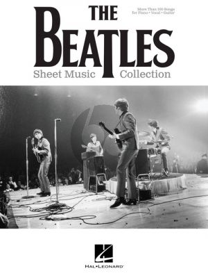 The Beatles Sheet Music Collection Piano-Vocal-Guitar