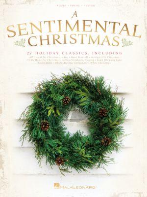 A Sentimental Christmas Book Piano-Vocal-Guitar