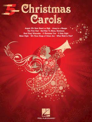 Christmas Carols Five Finger Piano Songbook