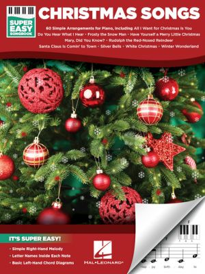 Christmas Songs – Super Easy Songbook for Piano