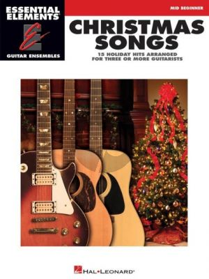 Christmas Songs – 15 Holiday Hits arranged for Three or More Guitarists