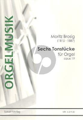Brosig 6 Tonstücke Op.19 Orgel